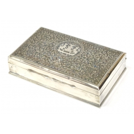 THAI STERLING SILVER PRESENTATION BOX
