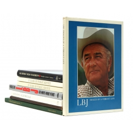 (8) BOOKS: LYNDON B. JOHNSON, 36TH U.S. PRESIDENT