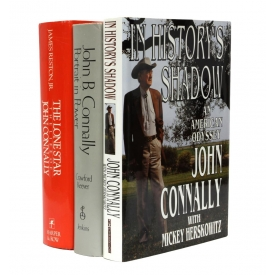 (3) BOOKS: JOHN CONNALLY AUTOGRAPHED & OTHERS