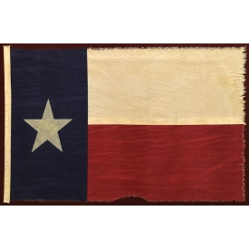 REPLICA OF THE THIRD FLAG OF THE REPUBLIC OF TEXAS