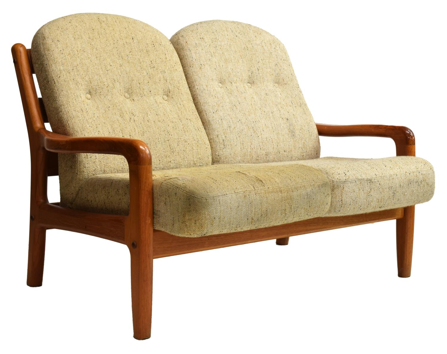 Danish Modern Teakwood Loveseat C 1970s March 2016 Estates Auction Day One Austin