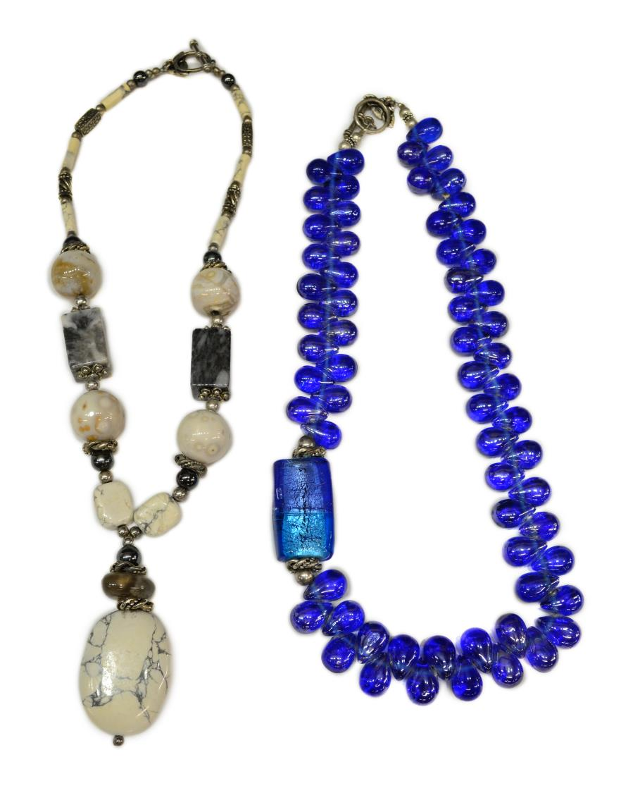 2 artisan minire collection beaded necklaces march