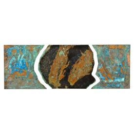DARYL COLBURN (AMERICAN 20TH C.) COPPER WALL ART