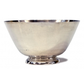 TIFFANY & COMPANY STERLING SILVER FOOTED BOWL