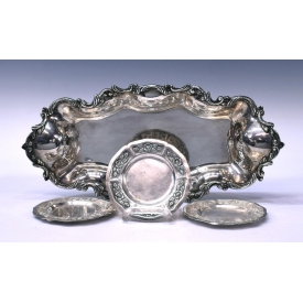 (4) SANBORNS MEXICO STERLING SILVER TABLE ITEMS