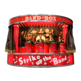 CHICAGO COIN'S BAND BOX AUTOMATON, OPERATING