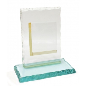 ITALIAN MID-CENTURY ART GLASS PICTURE FRAME