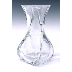 BACCARAT COLORLESS CRYSTAL 'SERPENTIN' VASE
