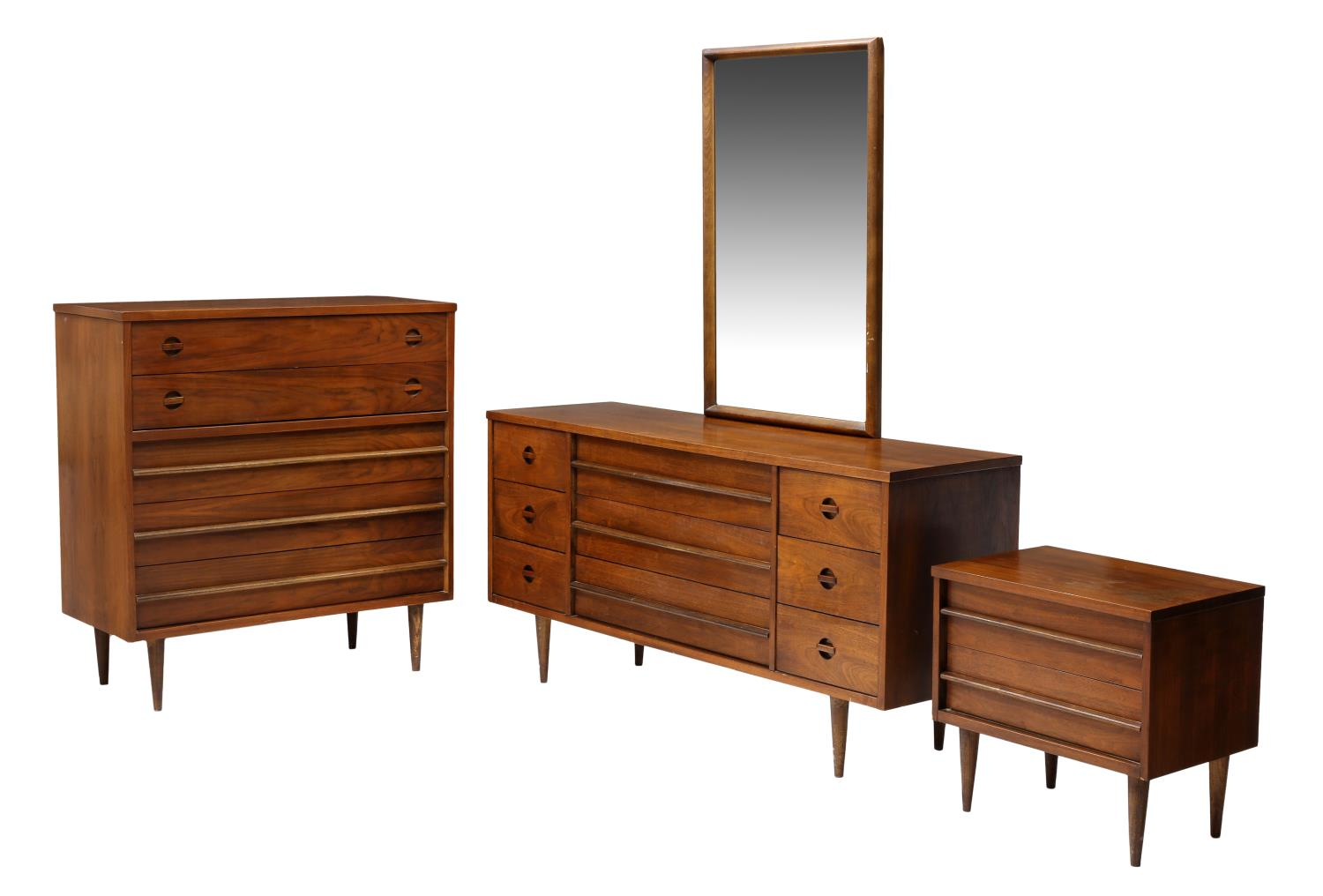 3 Mid Century Modern Bassett Bedroom Furniture May