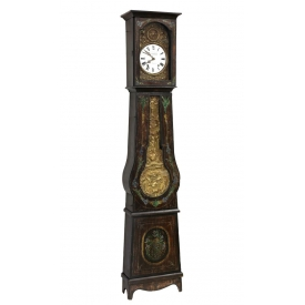 FRENCH PROVINCIAL TALL CASE CLOCK
