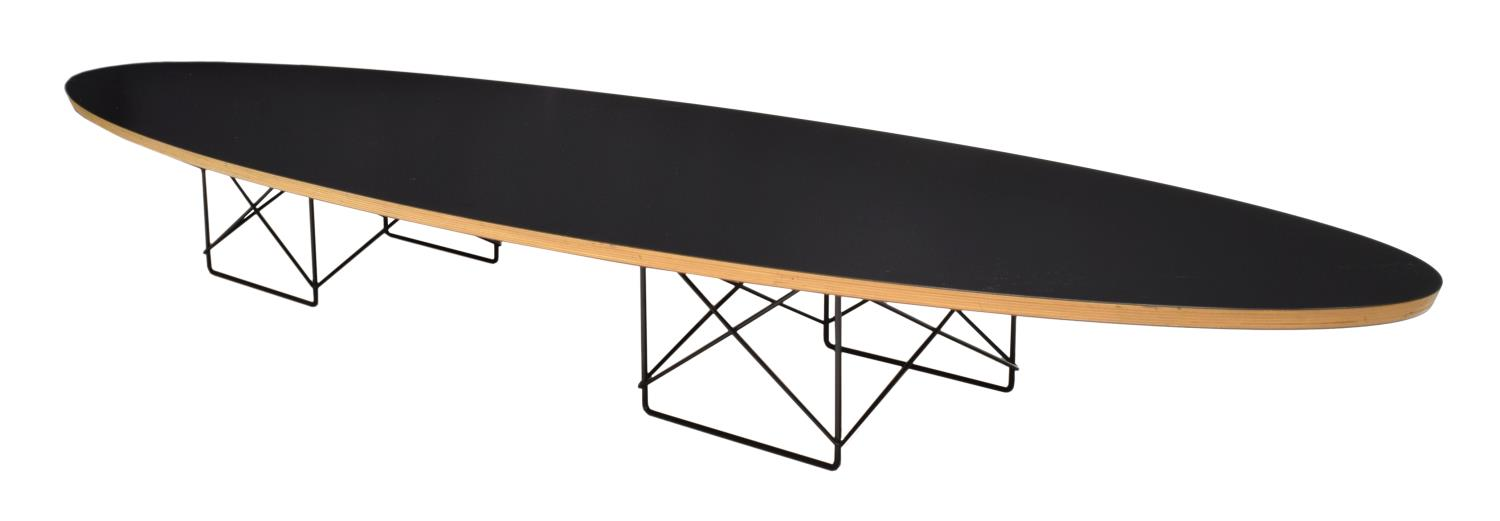 Eames For Herman Miller Elliptical Coffee Table Summer Estates Auction Day One Austin