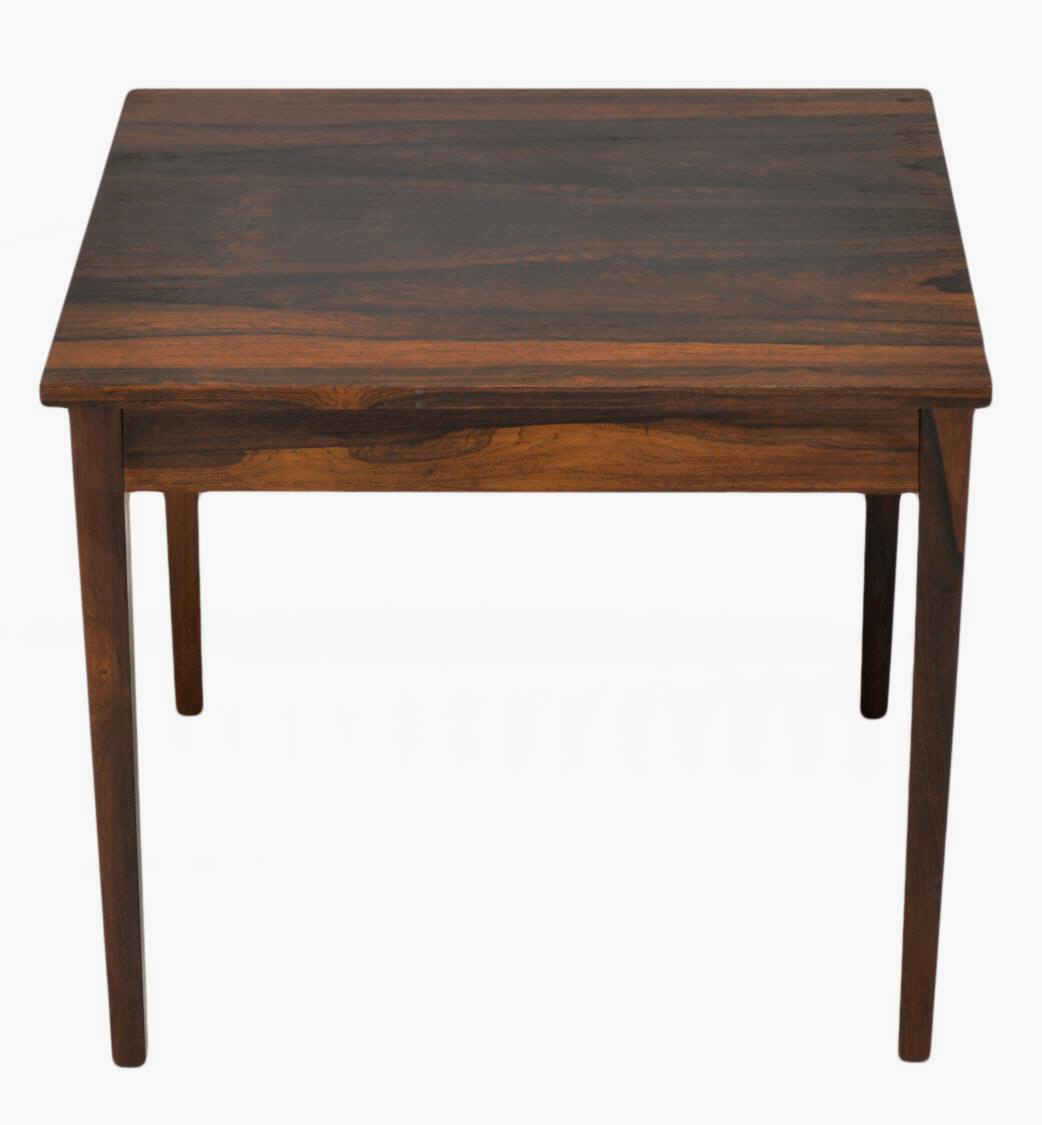 Mid Century Rose Wood Side Table Or Small Coffee Table For: SMALL DANISH MID-CENTURY ROSEWOOD SIDE TABLE
