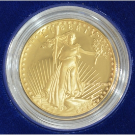 1987 AMERICAN GOLD EAGLE PROOF $50 DOLLAR COIN