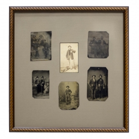 (6)U.S. CIVIL WAR TINTYPES, CDV, SOLDIERS AND MORE