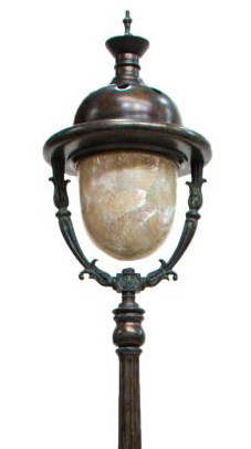 maitland smith style street light form floor lamp exciting auction. Black Bedroom Furniture Sets. Home Design Ideas