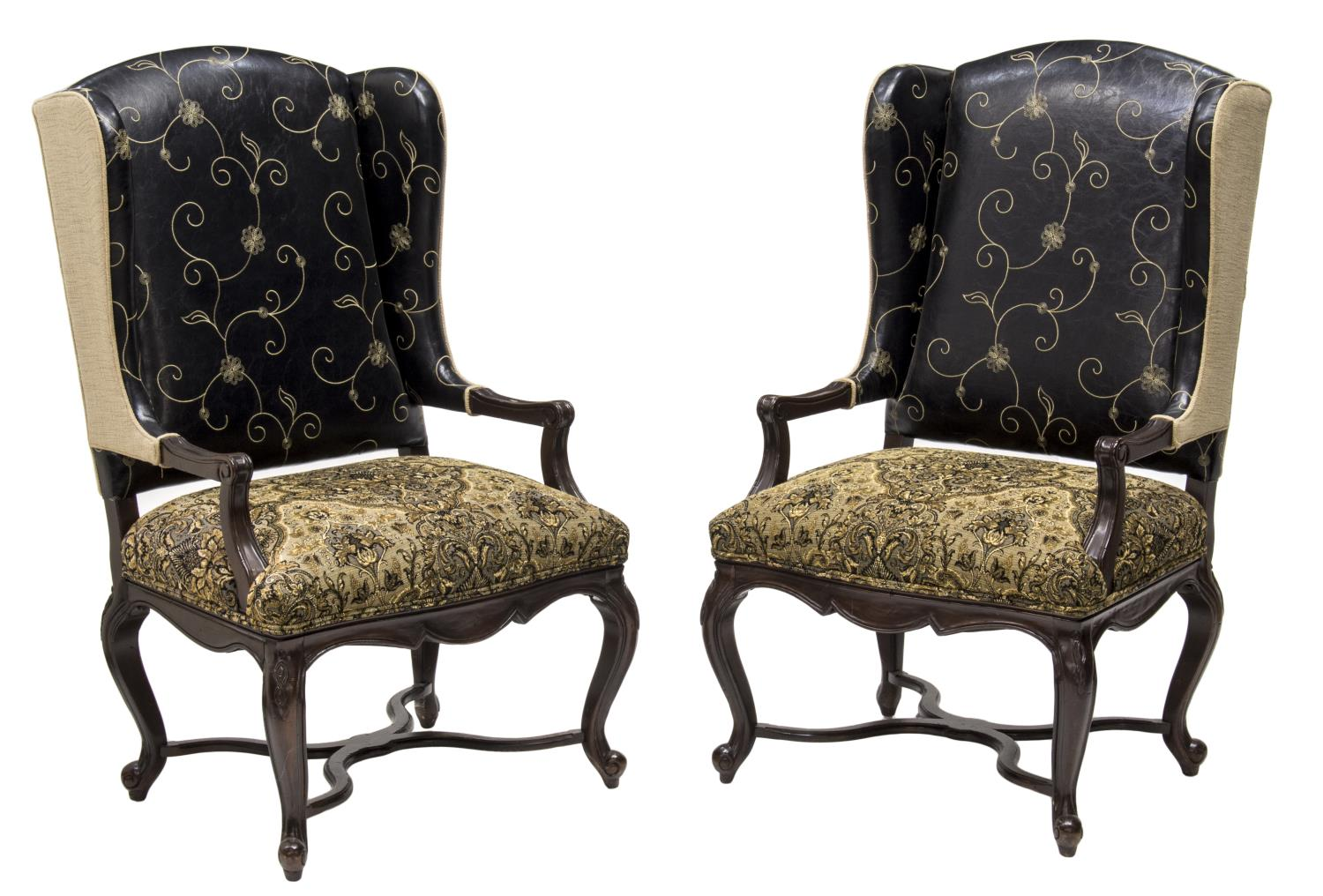 Wingback Dining Room Chairs For Sale Cheap Wingback