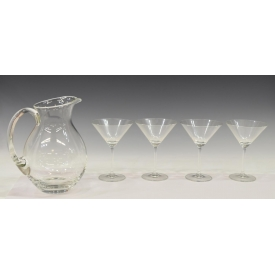 (5) WATERFORD MARQUIS MARTINI SET