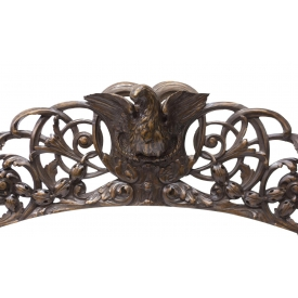 ITALIAN CARVED ARCHITECTURAL ELEMENT, 18TH C.