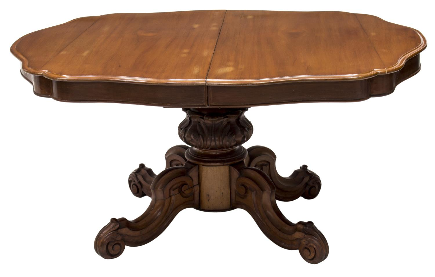 AMERICAN VICTORIAN CARVED MAHOGANY DINING TABLE The  : 198 from www.austinauction.com size 1500 x 957 jpeg 83kB