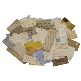 (25+) CONFEDERATE CIVIL WAR SOLDIER LETTERS, TEXAS