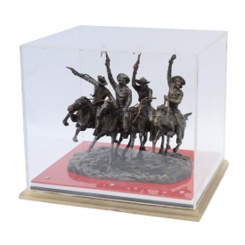 """COMING THRU THE RYE"", BRONZE AFTER REMINGTON"