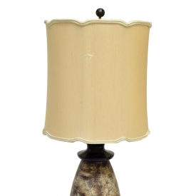 (PAIR) JAMES MONT CERAMIC TABLE LAMPS