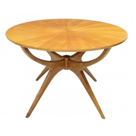 ITALIAN MID-CENTURY MODERN SPIDER DINING TABLE