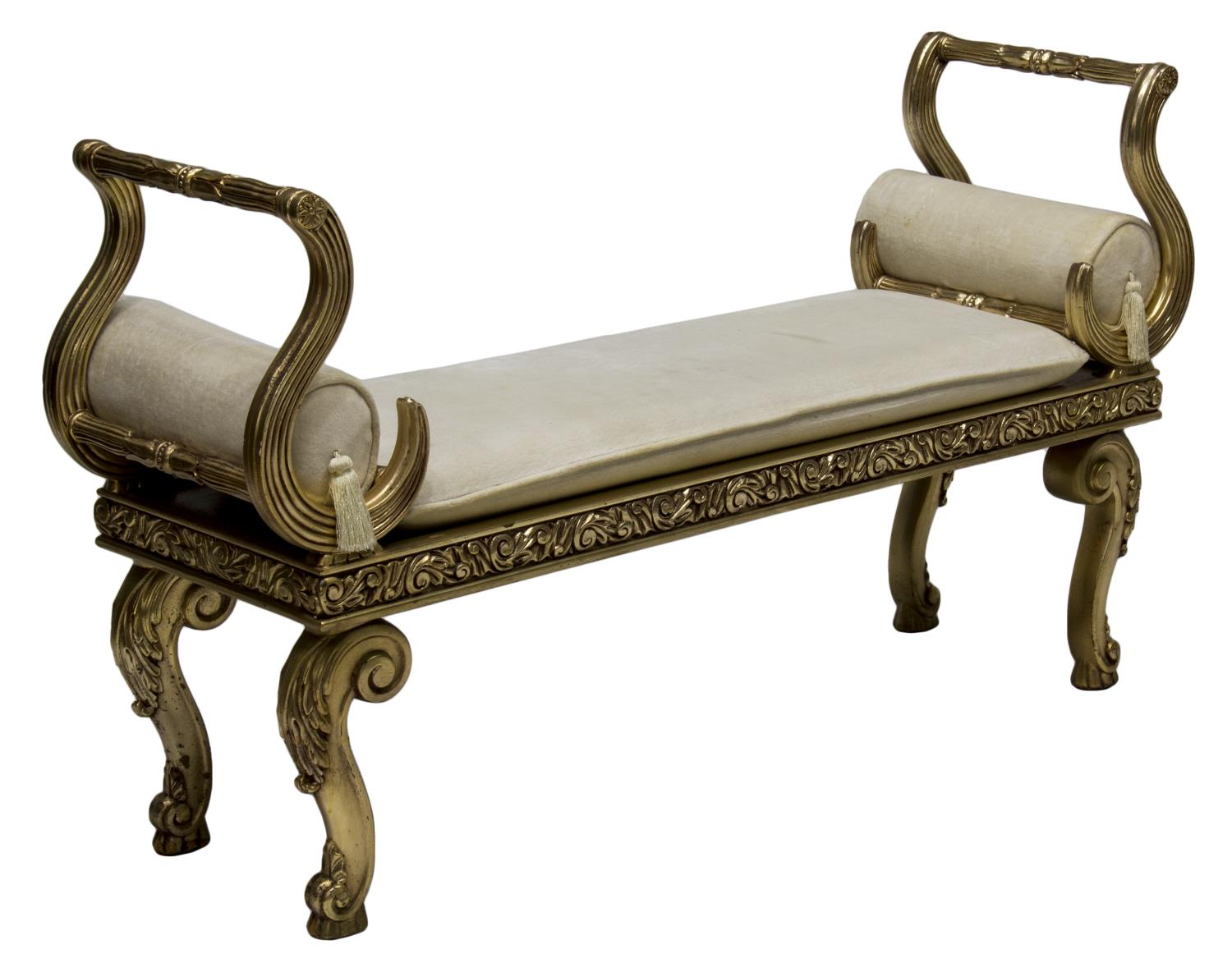 Louis Xv Style End Of The Bed Bench Luxury Estates Aucton Day One Austin Auction Gallery