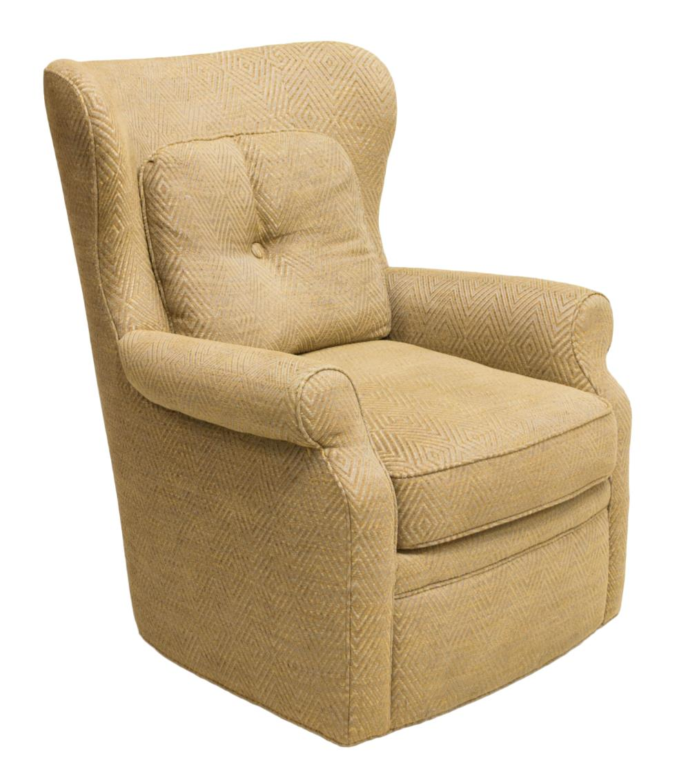 Upholstered swivel rocking chair jessica charles luxury