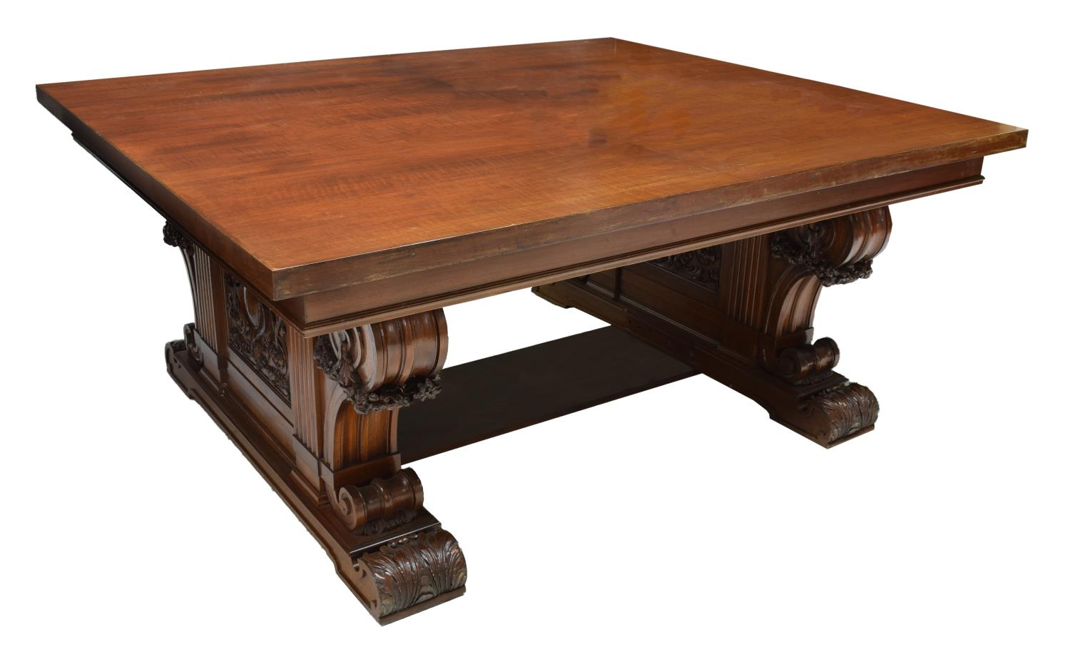 Mahogany dining table luxury estates aucton day two for Transmutation table 85 items