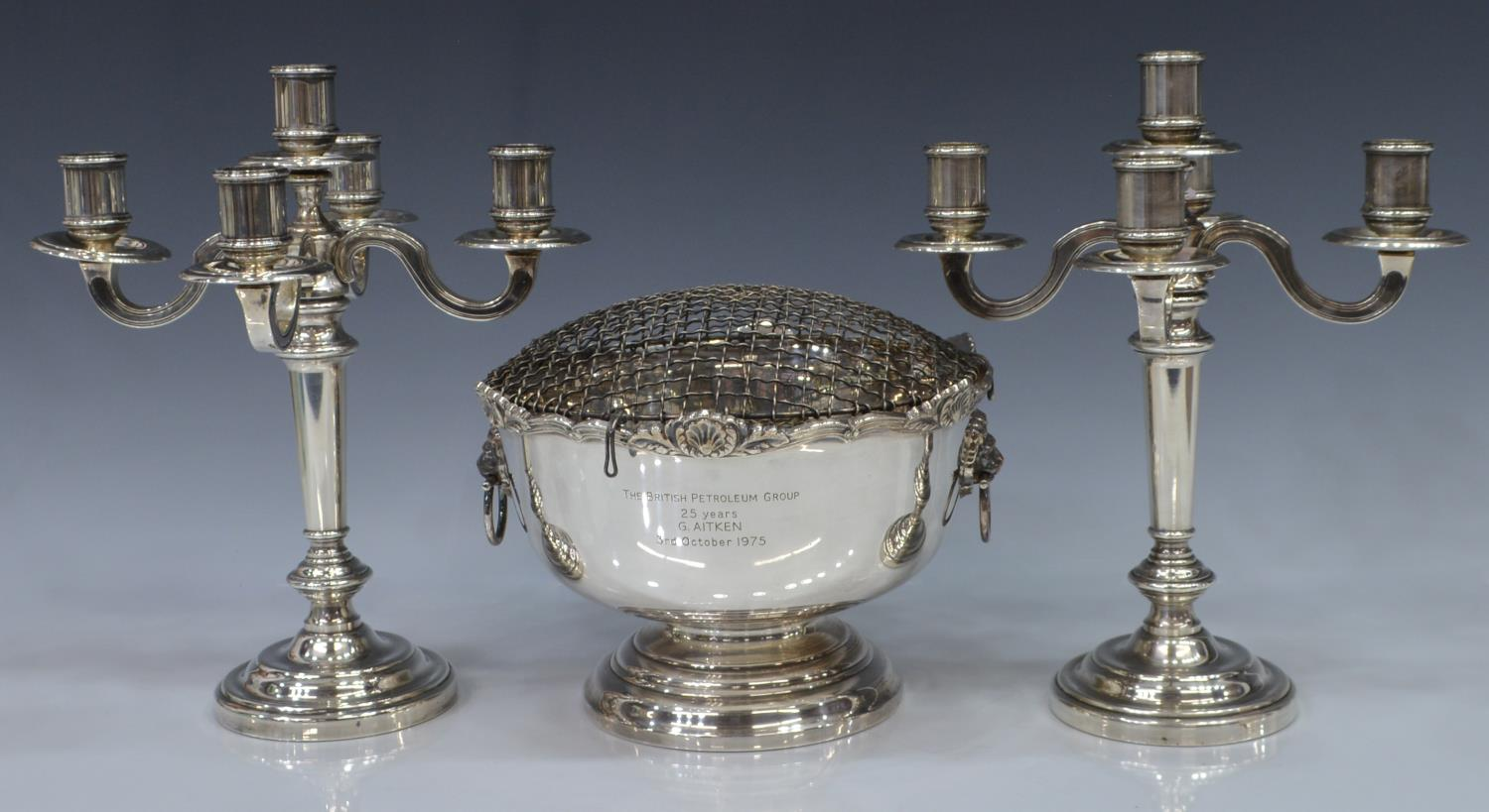 3 christofle garrard silverplate table items luxury for Transmutation table 85 items