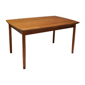 DANISH MID-CENTURY MODERN TEAK DINING TABLE