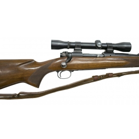 WINCHESTER MODEL 70 RIFLE, 30-06, SCOPE, PRE 1964