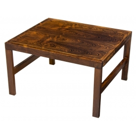 SWEDISH MID-CENTURY MODERN LOW ROSEWOOD TABLE
